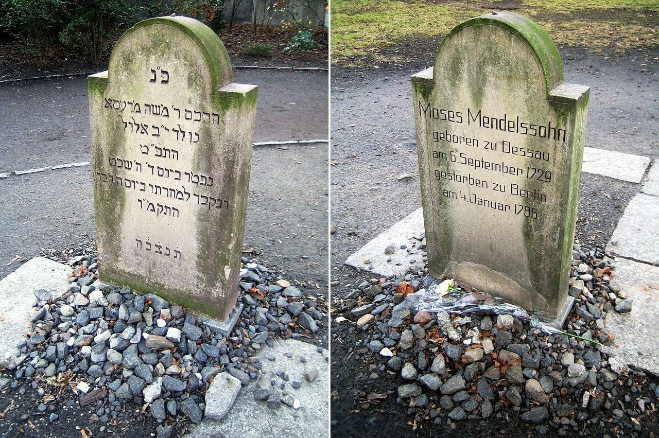 Jewish Cemetery At Grosse Hamburger Strasse In Berlin Germany The Jewish Cemetery Grosse Hamburger Strasse