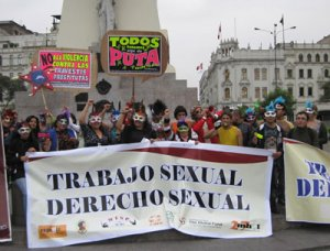 01. Perú: 2 de junio Día Internacional de las Trabajadoras Sexuales