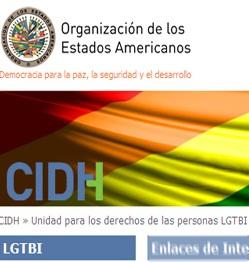 06. Nueva página web de la CIDH: Unidad para los derechos de las personas LGTBI