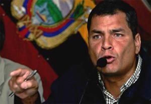 02. Ecuador: El Movimiento de Mujeres rechaza expresiones machistas y sexistas del presidente Rafael Correa y le exige que se retracte