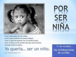 23. 11 de octubre: Día Internacional de la Niña