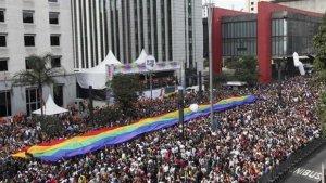 21. Brasil: Gran concurrencia en la Marcha del Orgullo