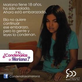 09. Perú: Católicas por el derecho a decidir lanza campaña por la despenalización del aborto en caso de violación