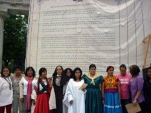 """18. México: Mujeres firman """"Acta de Independencia sobre Nuestros Cuerpos"""""""