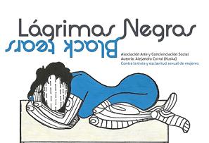 """05. España: """"Lágrimas negras"""" un tapiz contra la esclavitud sexual despierta el interés de foros de arte"""