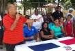 Andrés Liberato habla a los atletas