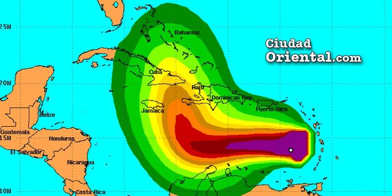 """La tormenta tropical Matthew """"huele a peligro"""" mientras va por el Caribe"""