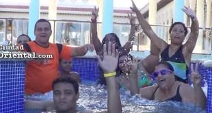 Periodistas de medios digitales disfrutan de hidro pasajes en el Hotel Paradisus Palma Real