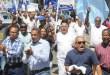 Marcha opositora en DN