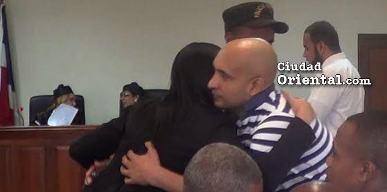 Video- Acusado de asalto liberado luego dos años preso siendo inocente