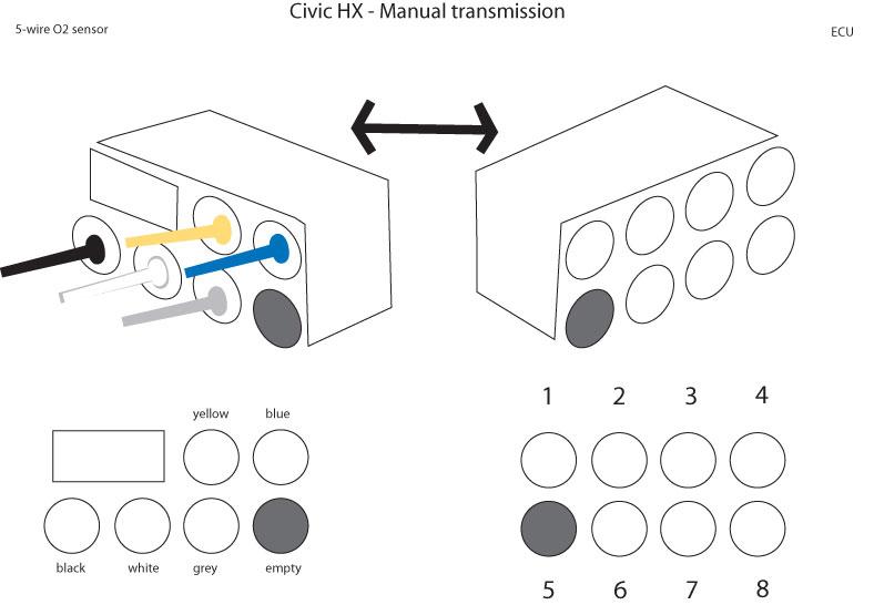 Wiring O2 Sensor Honda - Carbonvotemuditblog \u2022