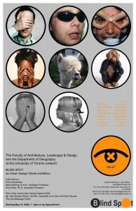 Print Blind Spot poster