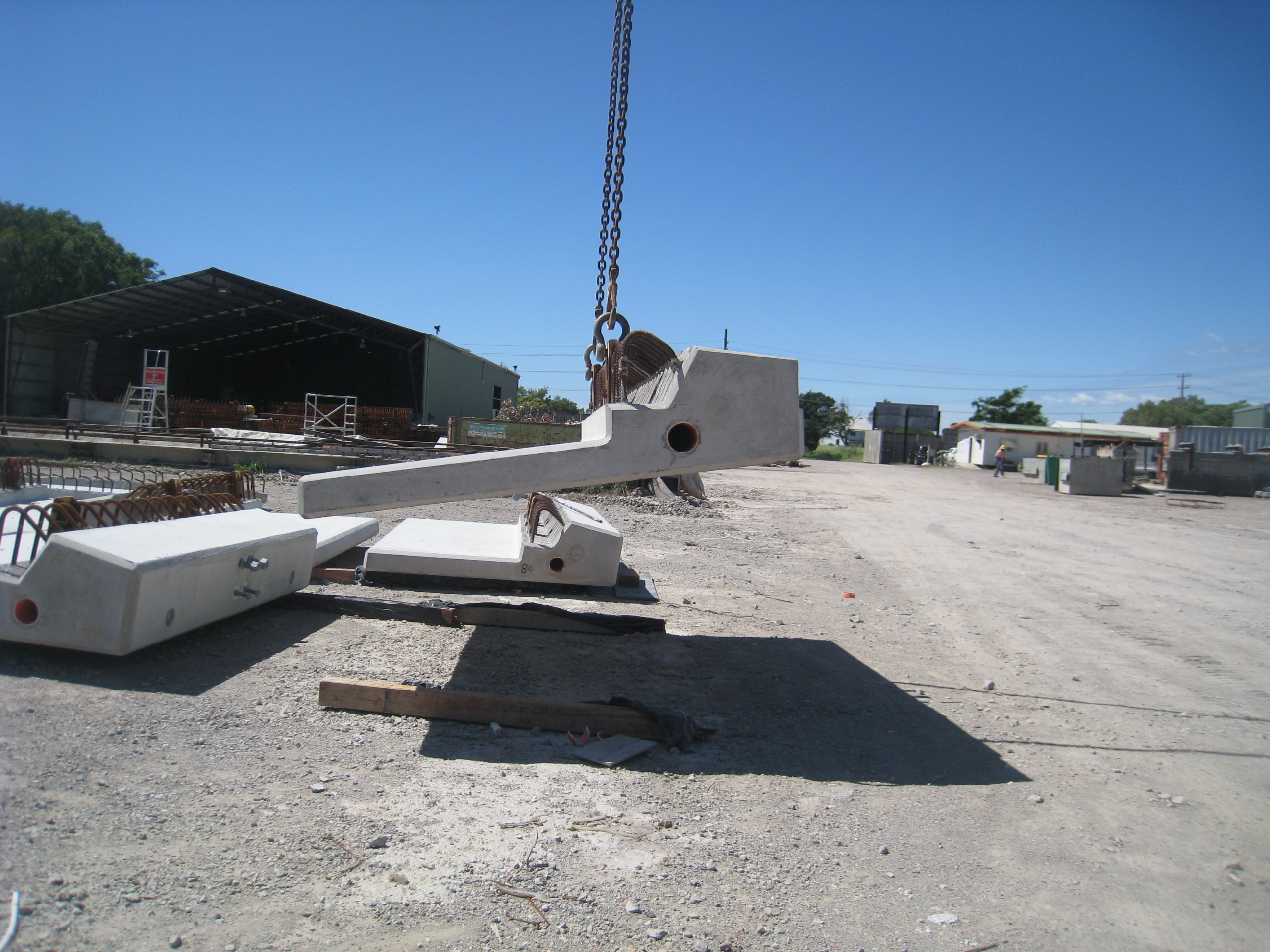 Precast Bridges Precast Barriers And Parapets Saunders Civilbuild