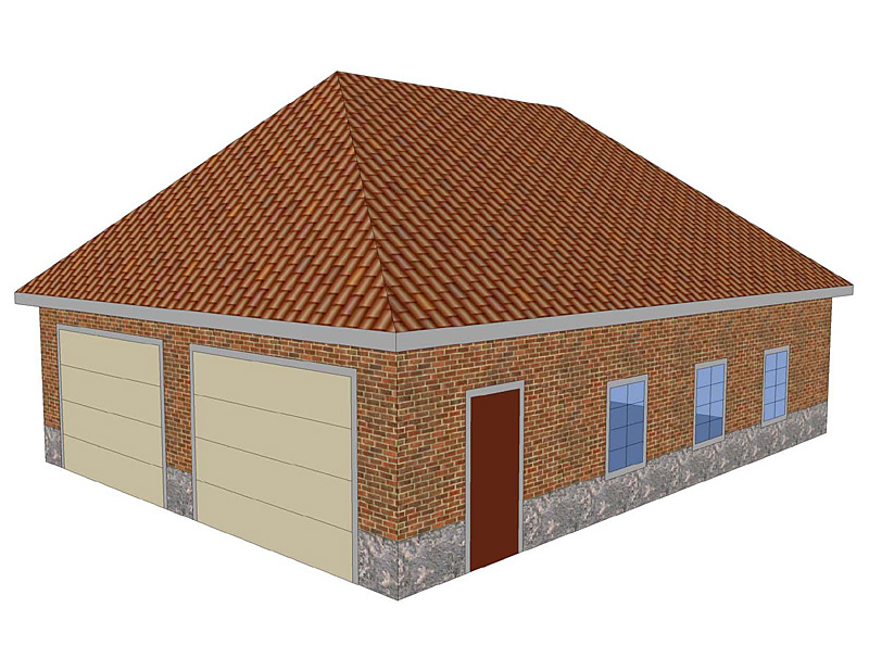 3d Brick Wallpaper South Africa Difference Between Gable Roof And Hip Roof
