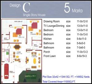 5 Marla House Plans on 5 Marla House Plan