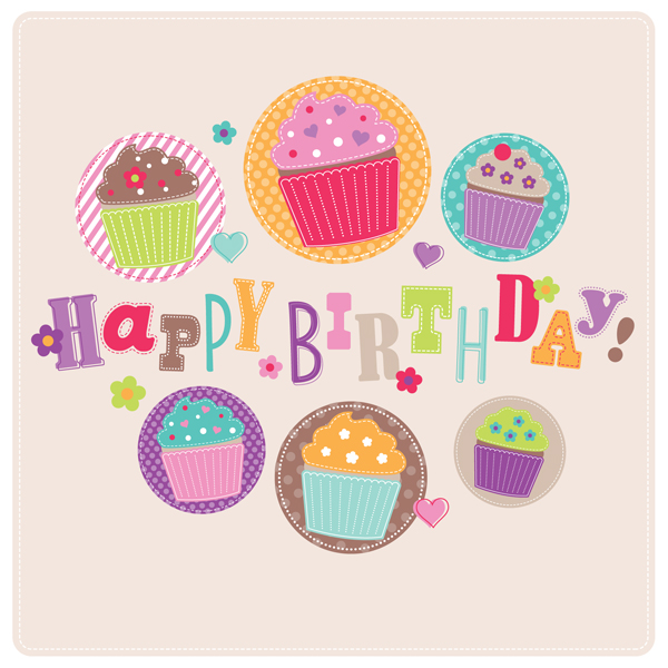 Happy-Birthday-Cupcake-Cardjpg (600×600) HBD!!! Pinterest - birthday card layout
