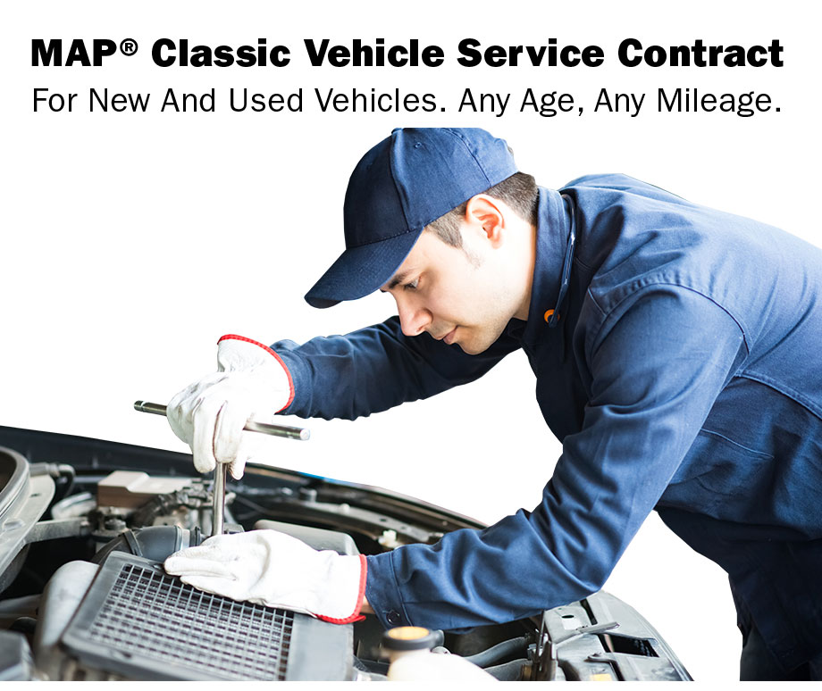 MAP® Vehicle Service Contract Oklahoma City