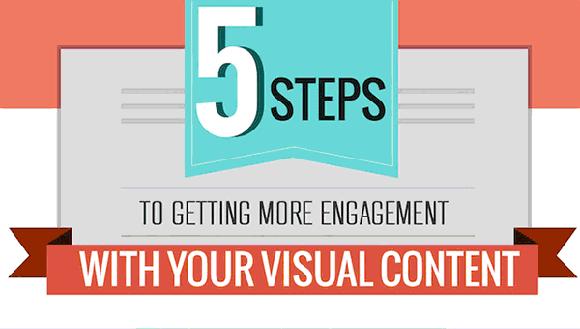 Infografía: 5 pasos para mejorar el engagement