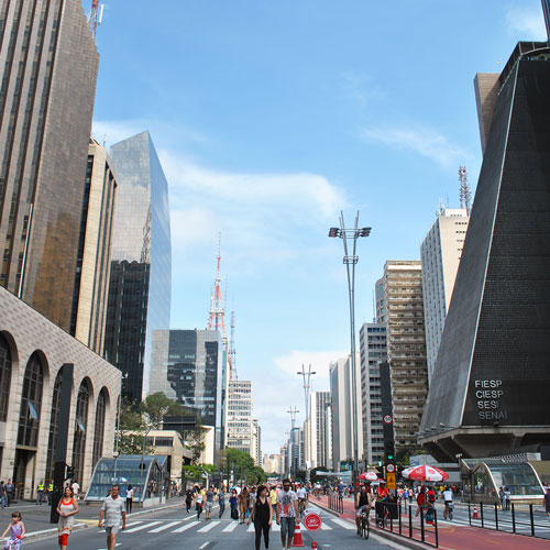 Avenida Paulista Aberta aos Domingos