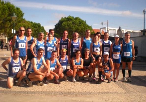 25 atletas correram em Vieira de Leiria