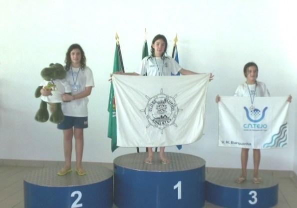 Carolina Gavancho (Juv) e Estafetas Infantil B, sagram-se Campeões Regionais