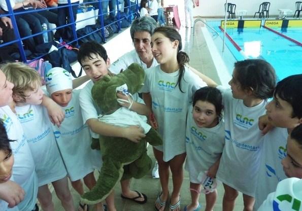 fim de semana cheio de competição para as equipas de natação