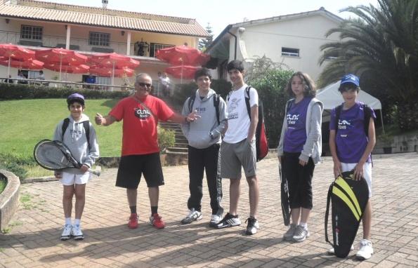 Tenis juvenil em Leiria