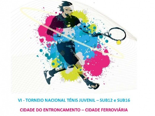 Francisco Arez e Rita Coelho nas meias-finais do VI Torneio Nac.Ténis do Entroncamento Sub12 e Sub16