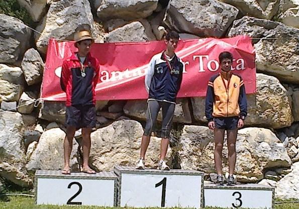 Orientação: 4 campeões nacionais e um vice campeão