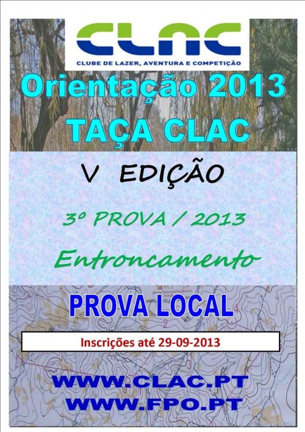 TAÇA CLAC 2013 CARTAZ