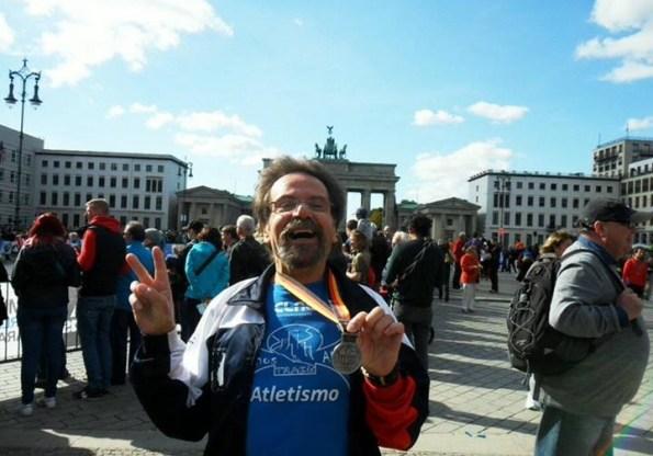 O CLAC na Maratona de Berlim com António Paixão
