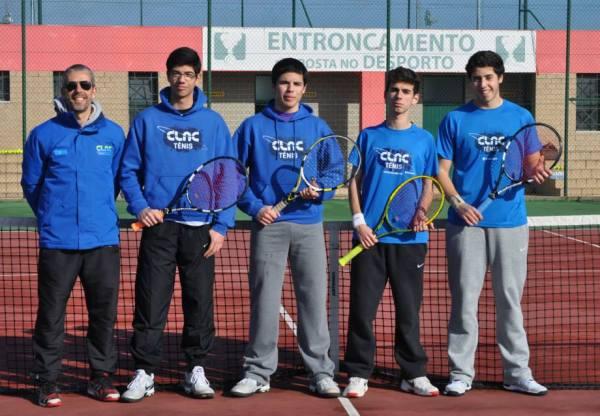 Sub-18 no Regional de Equipas em ténis