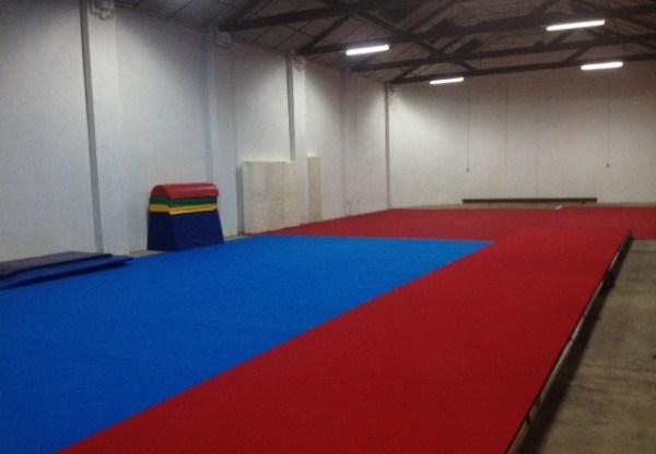 Os novos espaços Desportivos CLAC