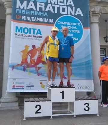 Manuel Maia do CLAC  Consagra-se Campeão Nacional  na Meia Maratona da Moita