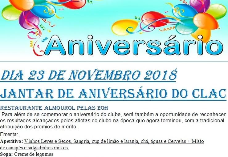 XXXIII Aniversário do CLAC