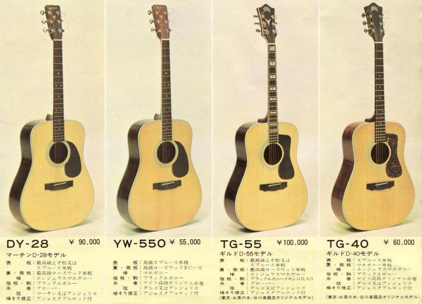 K Yairi TG-40 Claescaster