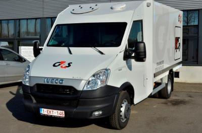 G4S Cash Solutions neemt zijn nieuwe IVECO Daily 70C17 in ontvangst – Garage Claeskens
