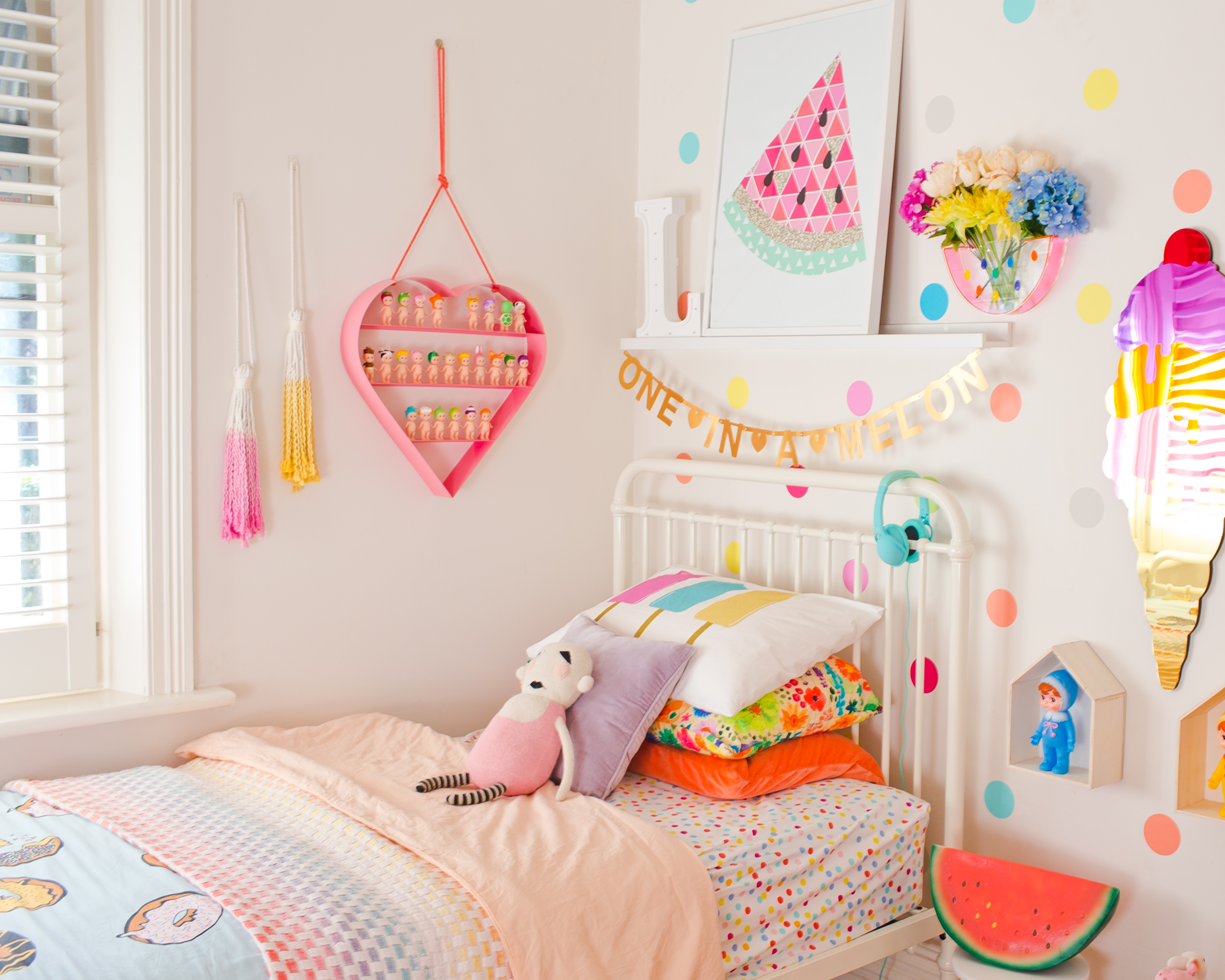 Rainbow Kids Rooms Lilys Incy Interiors Rainbow Room Claire Collected