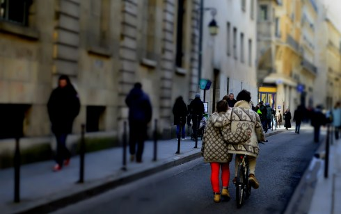 Paris 2013 738 couple with bicycle