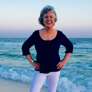 Claire on Beach