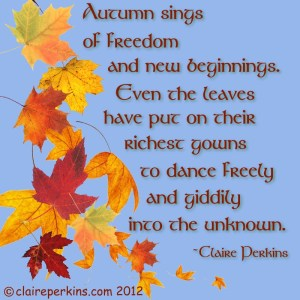 """Autumn Dance"", digital composition with original poetry. See blog"