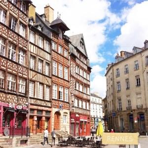 Les clbres immeubles plus trs droits de Rennes ! clairesbloghellip