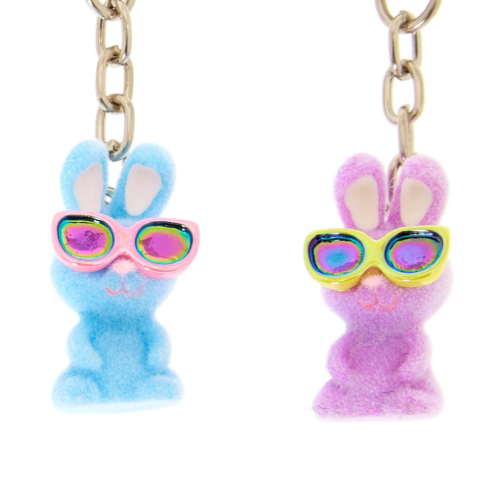 Porte Clef Original Design Bff Bunnies Key Rings 5 Pack