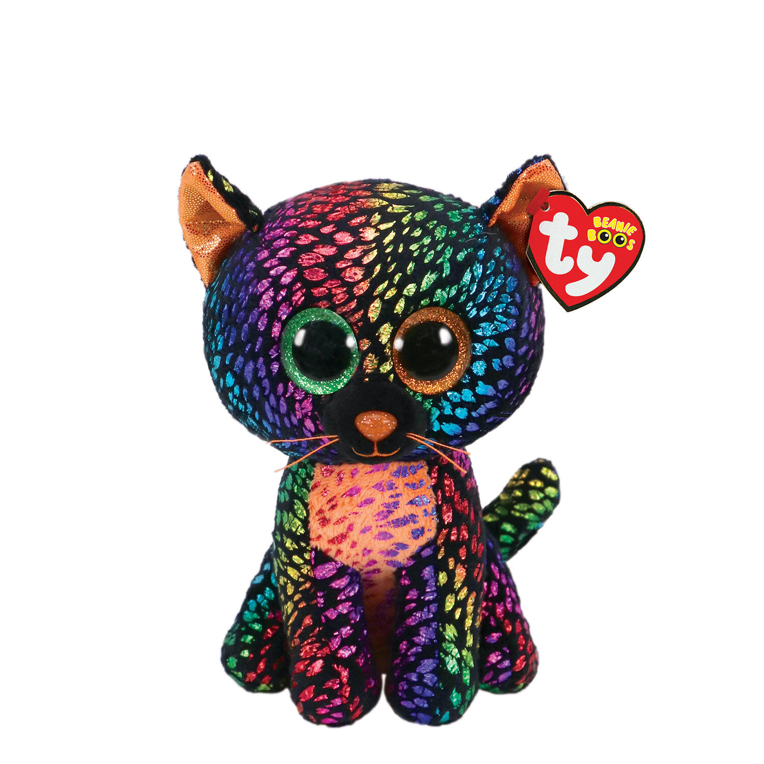 Cat Plush Toy Ty Beanie Boo Small Spellbound The Cat Plush Toy