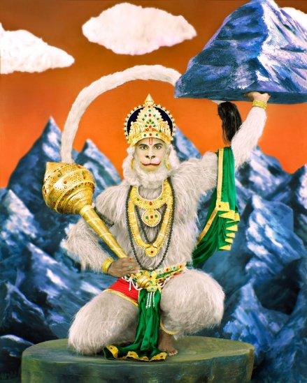Manjari Sharma, Lord Hanuman