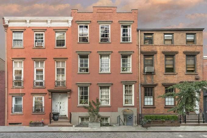 Marc Yankus, Three Buildings on Greenwich Street