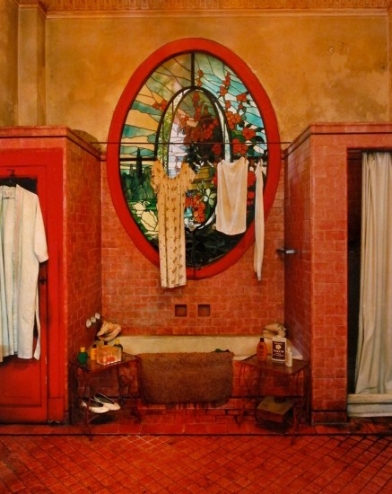 Michael Eastman, Red Bathroom (Havana)