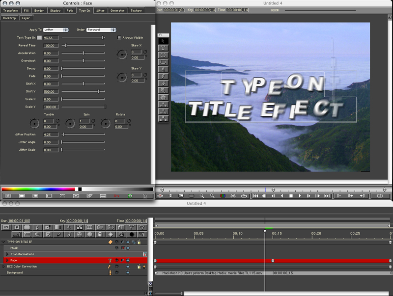 Animated Title Sequence Twenty-First Century Art and Design - animation title