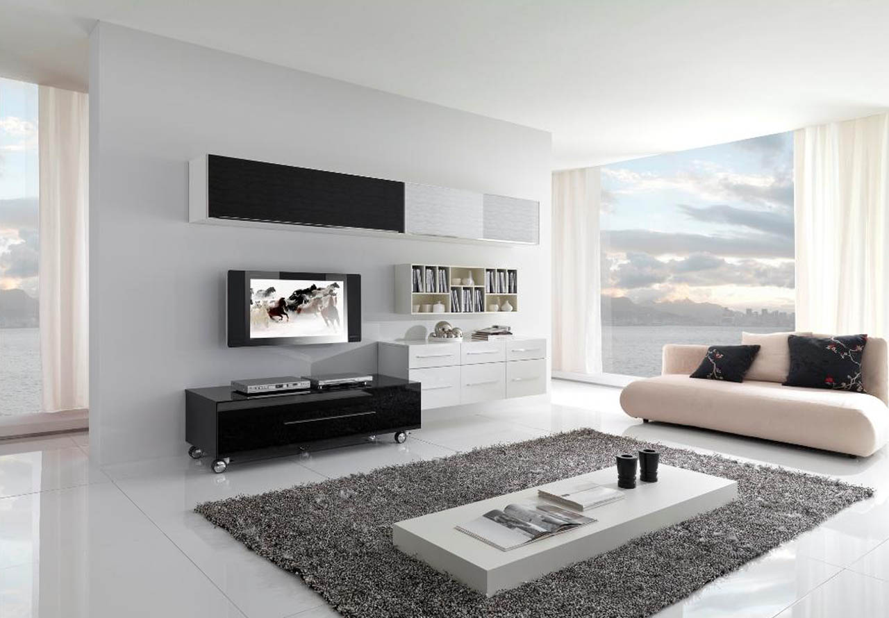 Photos Of Living Room Designs Inspiring Wonderful Black And White Contemporary Living Rooms