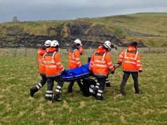 Doolin Coast Guard Cliff Trail Rescue